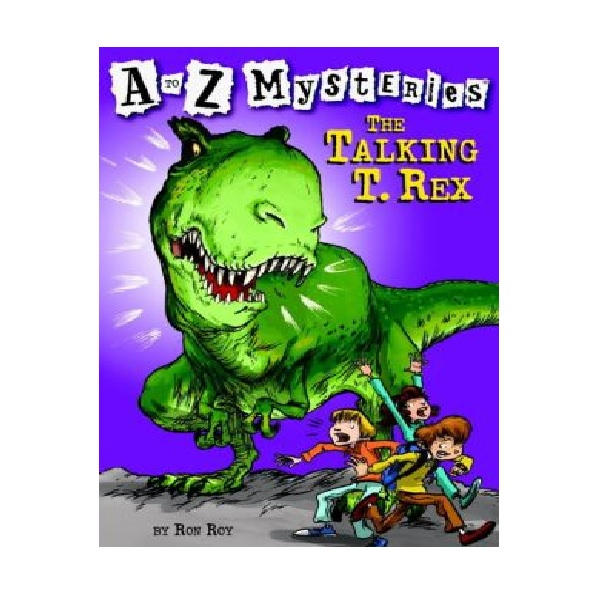 RL 3.8 : A to Z Mysteries Series #20 : The Talking T. Rex (Paperback)