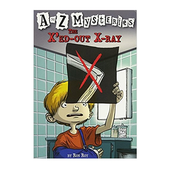 RL 3.8 : A to Z Mysteries Series #24 : The X'ed-Out X-Ray (Paperback)