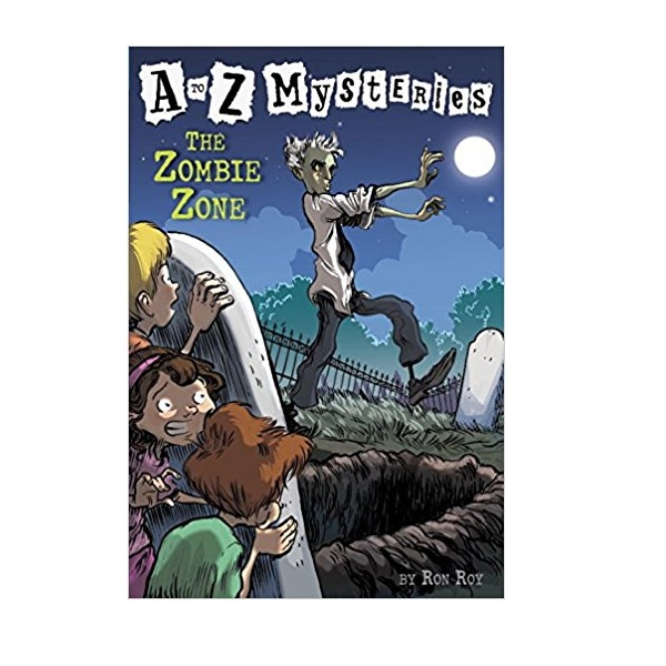 RL 3.8 : A to Z Mysteries Series #26 : The Zombie Zone (Paperback)