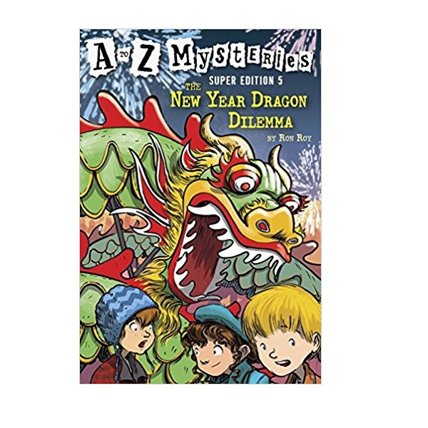 RL 3.8 : A to Z Mysteries Super Edition #5 : The New Year Dragon Dilemma (Paperback)