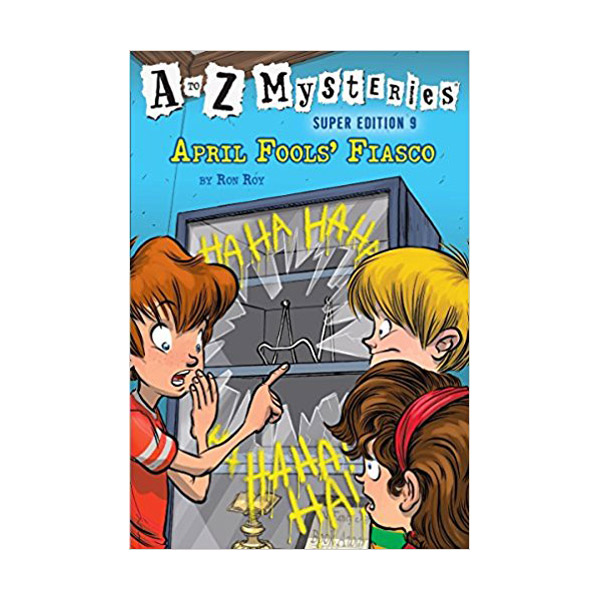 RL 3.8 : A to Z Mysteries Super Edition #9 : April Fools' Fiasco (Paperback)
