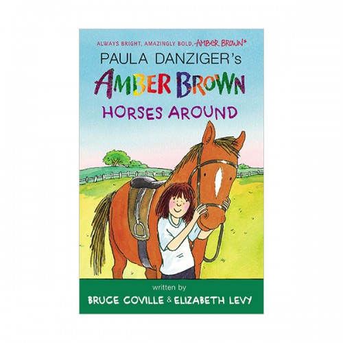 RL 3.8 : Amber Brown #12 : Amber Brown Horses Around (Paperback)