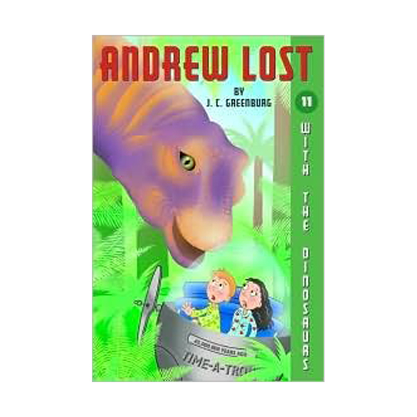 RL 3.8 : Andrew Lost Series #11 : With the Dinosaurs (Paperback)