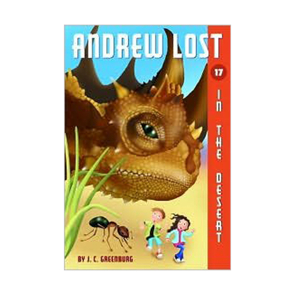 RL 3.8 : Andrew Lost Series #17 : In the Desert (Paperback)