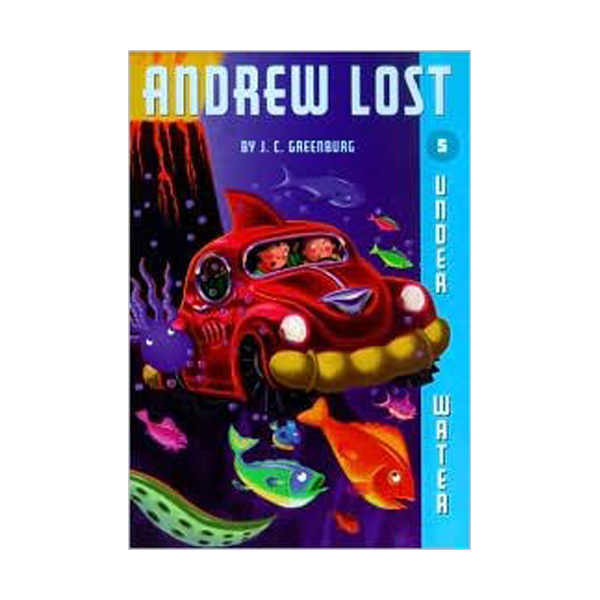 RL 3.8 : Andrew Lost Series #5 : Under Water (Paperback)