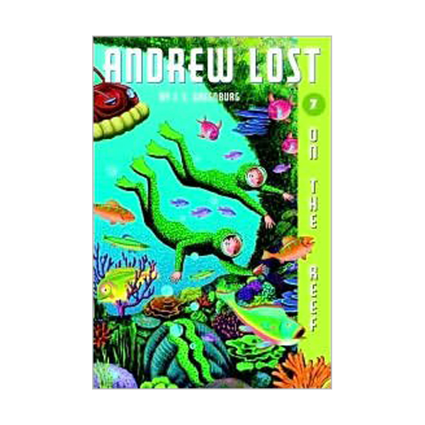 RL 3.8 : Andrew Lost Series #7 : On the Reef (Paperback)