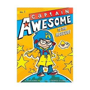 RL 3.8 : Captain Awesome Series #1 : Captain Awesome to the Rescue! (Paperback)