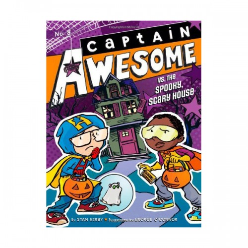 RL 3.8 : Captain Awesome Series #8 : Captain Awesome vs. the Spooky, Scary House (Paperback)