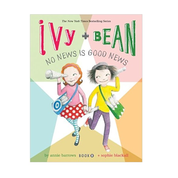 RL 3.8 : Ivy and Bean #8 : No News Is Good News (Paperback)