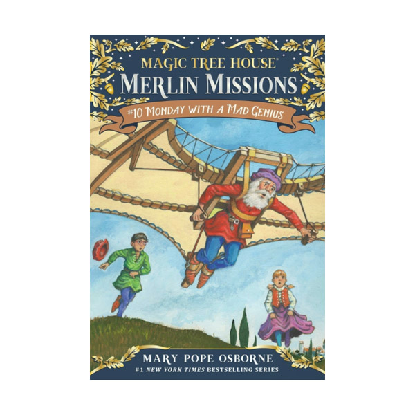 RL 3.8 : Magic Tree House : Merlin Missions #10 : Monday with a Mad Genius (Paperback)