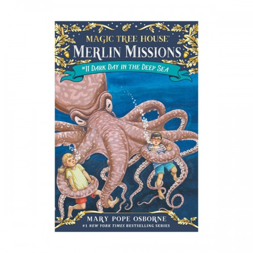 Magic Tree House Merlin Missions #11 : Dark Day in the Deep Sea (Paperback)