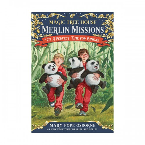 RL 3.8 : Magic Tree House : Merlin Missions #20 : A Perfect Time for Pandas (Paperback)