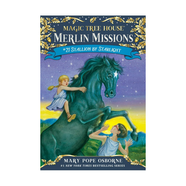 RL 3.8 : Magic Tree House : Merlin Missions #21 : Stallion by Starlight (Paperback)