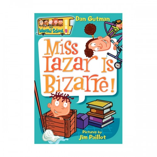 RL 3.8 : My Weird School Series #9 : Miss Lazar Is Bizarre! (Paperback)
