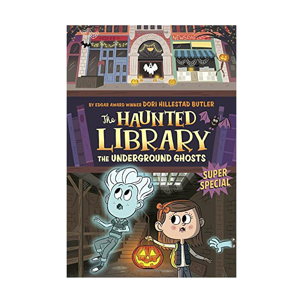 RL 3.8 : The Haunted Library #10 : The Underground Ghosts : A Super Special (Paperback)