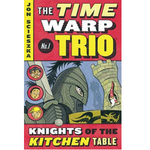 RL 3.8 : The Time Warp Trio #1 : Knights of the Kitchen Table (Paperback)