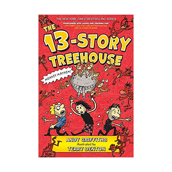 RL 3.8 : The Treehouse Books : The 13-Story Treehouse (Paperback)