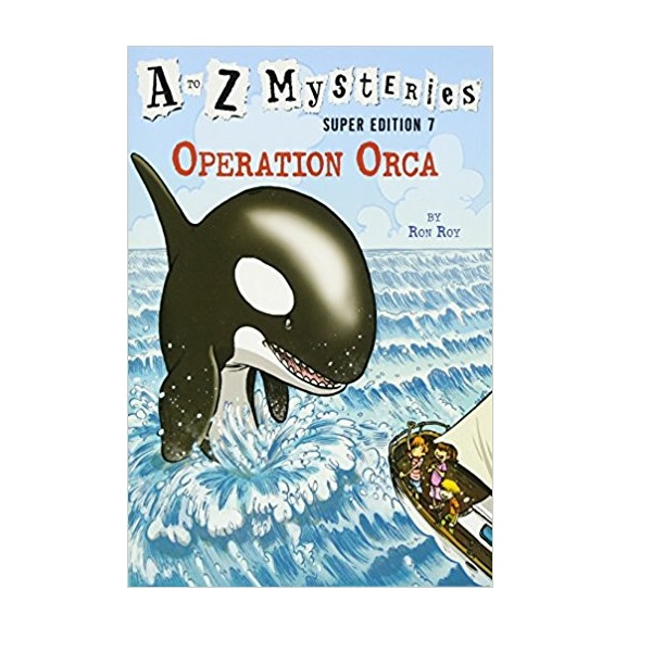 RL 3.9 : A to Z Mysteries Super Edition #7 : Operation Orca (Paperback)