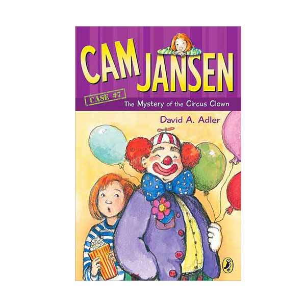 RL 3.9 : Cam Jansen #7 : The Mystery of the Circus Clown (Paperback)