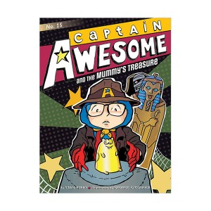 RL 3.9 : Captain Awesome Series #15 : Captain Awesome and the Mummy's Treasure (Paperback)