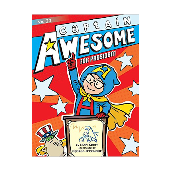 RL 3.9 : Captain Awesome Series #20 : Captain Awesome for President (Paperback)