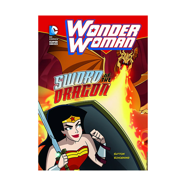 RL 3.9 : DC Super Heroes : Wonder Woman : Sword Of The Dragon (Paperback)