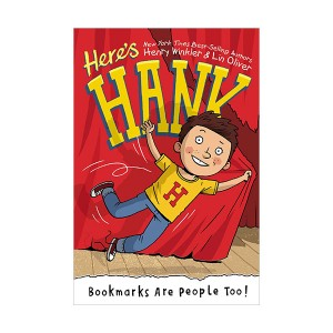 Here's Hank #01 : Bookmarks Are People Too! (Paperback)