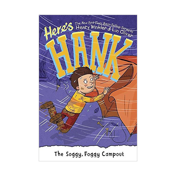 Here's Hank #08 : The Soggy, Foggy Campout (Paperback)