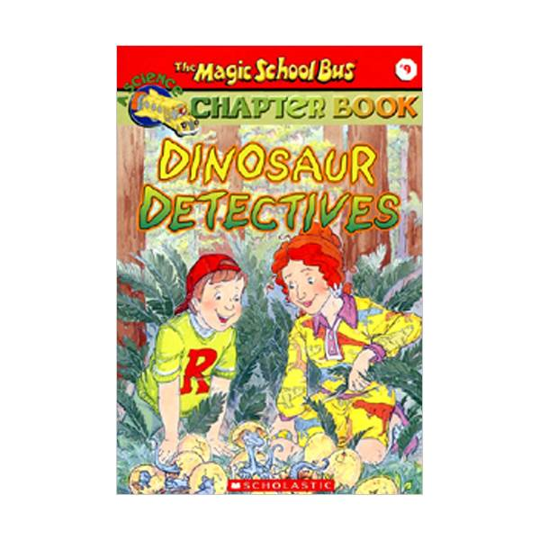RL 3.9 : Magic School Bus Chapter Book Series #9 : Dinosaur Detectives (Paperback)