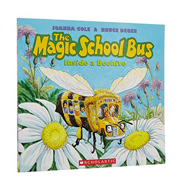 Magic School Bus Inside a Beehive (Paperback)