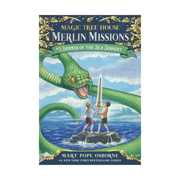 RL 3.9 : Magic Tree House : Merlin Missions #3 : Summer of the Sea Serpent (Paperback)