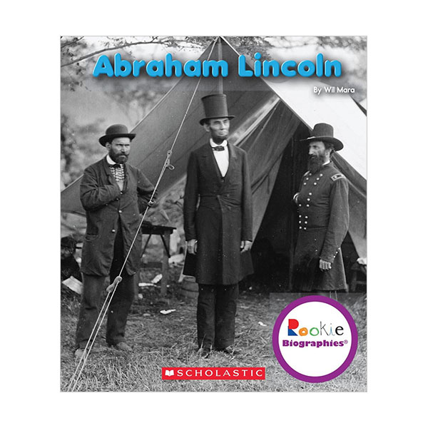 Rookie Biographies : Abraham Lincoln : 아브라함 링컨 (Paperback)