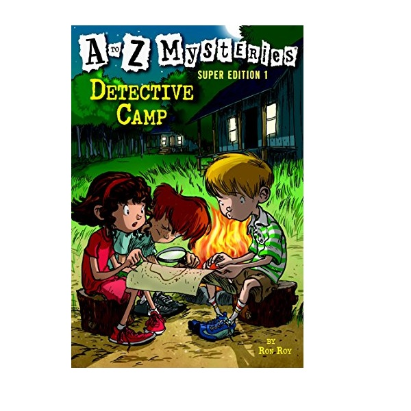 RL 4.0 : A to Z Mysteries Super Edition #1 : Detective Camp (Paperback)