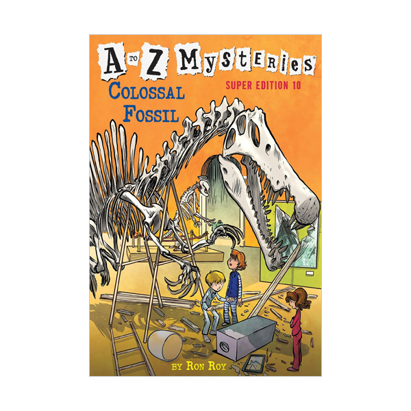 RL 4.0 : A to Z Mysteries Super Edition #10 : Colossal Fossil (Paperback)