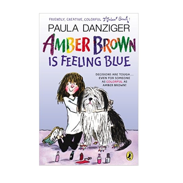 RL 4.0 : Amber Brown #07 : Amber Brown Is Feeling Blue (Paperback)
