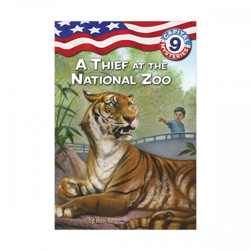Capital Mysteries #09 : A Thief at the National Zoo (Paperback)