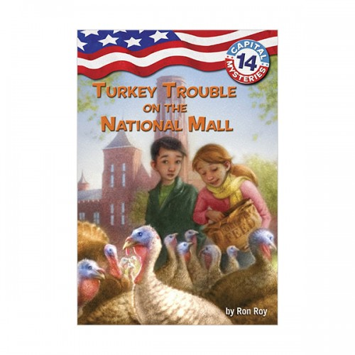 Capital Mysteries Series #14 : Turkey Trouble on the National Mall (Paperback)