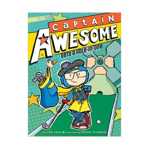 RL 4.0 : Captain Awesome Series #12 : Captain Awesome Gets a Hole-in-One (Paperback)