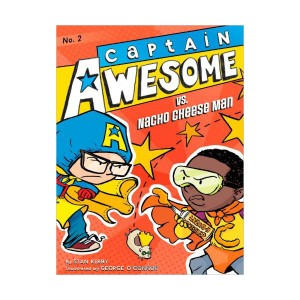 RL 4.0 : Captain Awesome Series #2 : Captain Awesome vs. Nacho Cheese Man (Paperback)