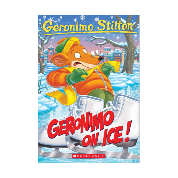 RL 4.0 : Geronimo Stilton #71 : Geronimo On Ice! (Paperback)