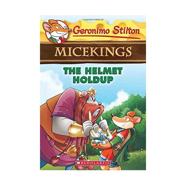 RL 4.0 : Geronimo : Micekings #06 : The Helmet Holdup (Paperback)