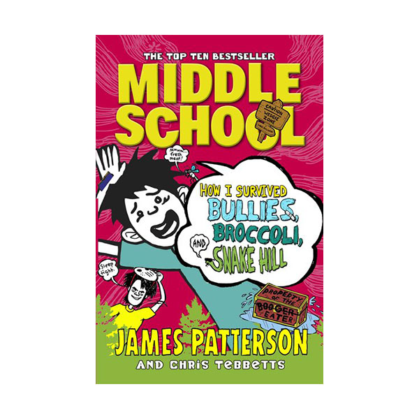 RL 4.0 : Middle School #4 : How I Survived Bullies, Broccoli, and Snake Hill (Paperback)
