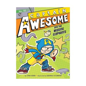 RL 4.1 : Captain Awesome Series #10 : Captain Awesome and the Missing Elephants (Paperback)