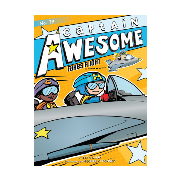 RL 4.1 : Captain Awesome Series #19 : Captain Awesome Takes Flight (Paperback)