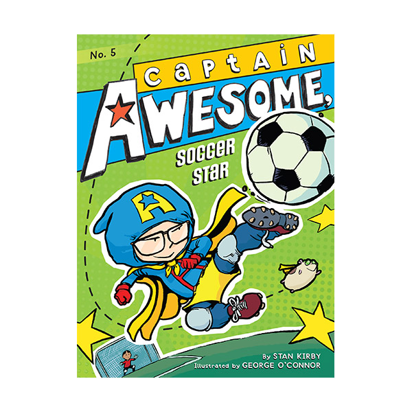 RL 4.1 : Captain Awesome Series #5 : Captain Awesome, Soccer Star (Paperback)