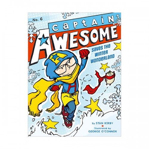 RL 4.1 : Captain Awesome Series #6 : Captain Awesome Saves the Winter Wonderland ( (Paperback)