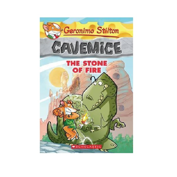 RL 4.1 : Geronimo : Cavemice #01: The Stone of Fire (Paperback)