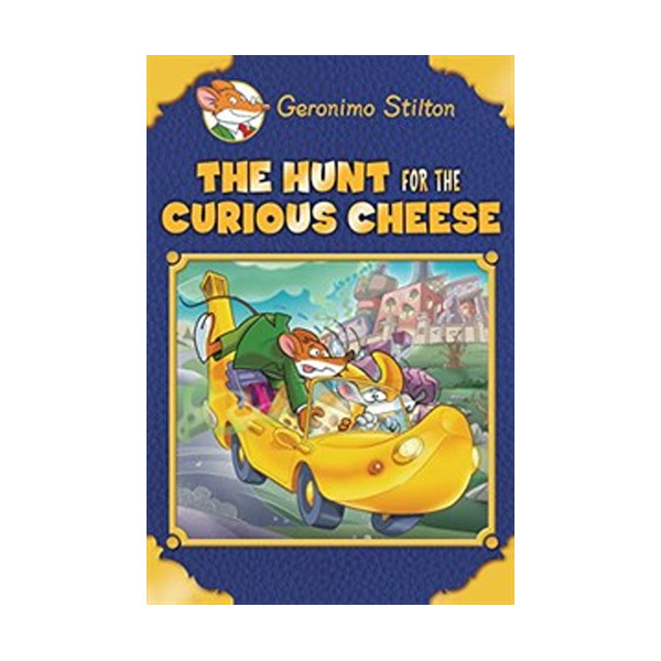 RL 4.1 : Geronimo Stilton Special Edition: The Hunt for the Curious Cheese (Hardcover)