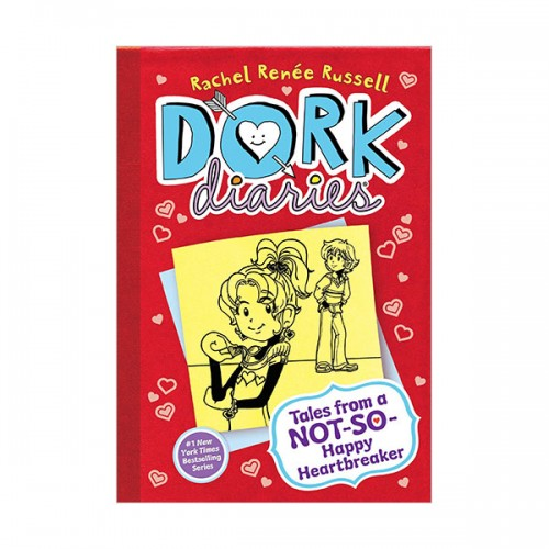 RL 4.2 : Dork Diaries #6 : Tales from a Not-So-Happy Heartbreaker (Hardcover)