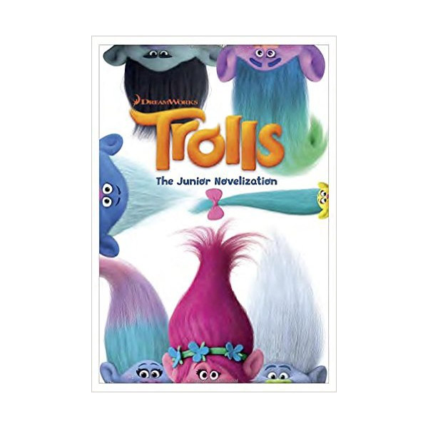 RL 4.2 : DreamWorks Trolls : The Junior Novel (Paperback, Movie Tie-In)